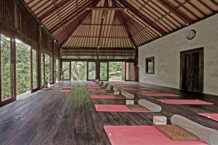 best yoga retreats bali Luxa Terra