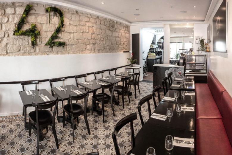 best vegan restaurants paris 42 Degrés Luxa Terra