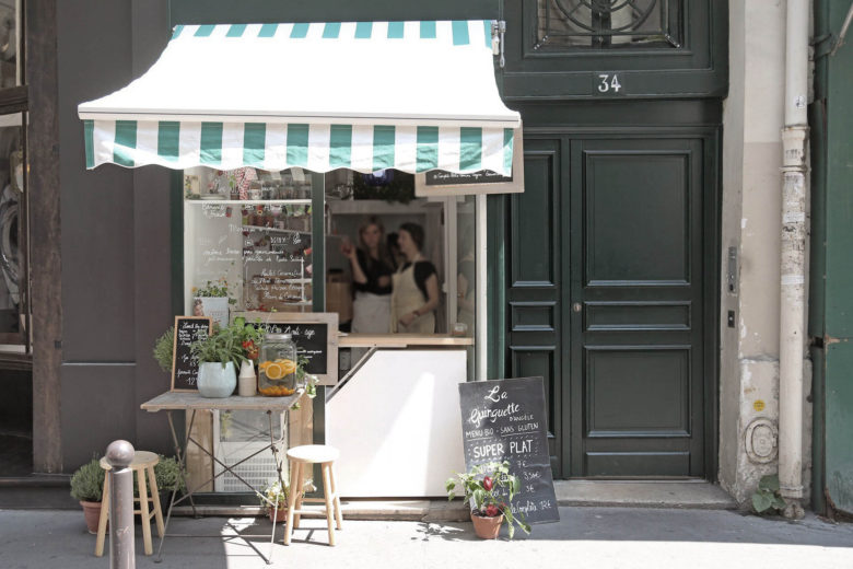 best vegan restaurants paris La Guinguette d'Angèle Luxa Terra