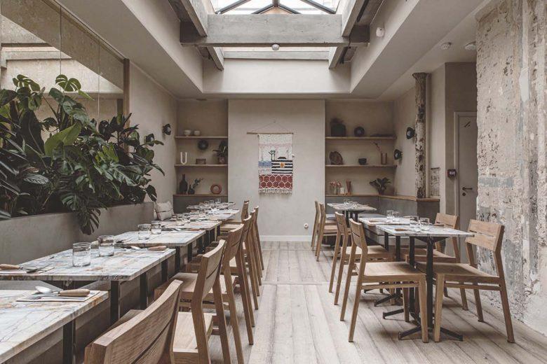 best vegan restaurants paris Mesa Luxa Terra