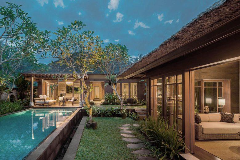 best hotels bali Mandapa Luxa Terra