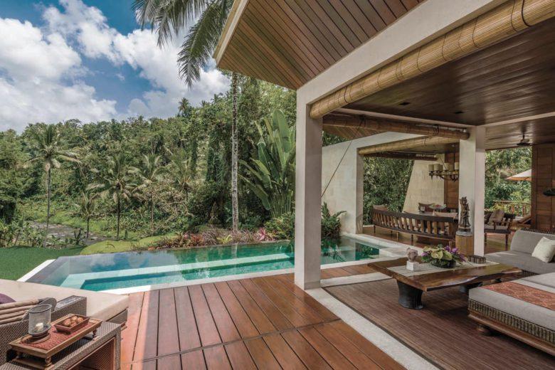 best hotels bali Four Seasons Sayan Luxa Terra
