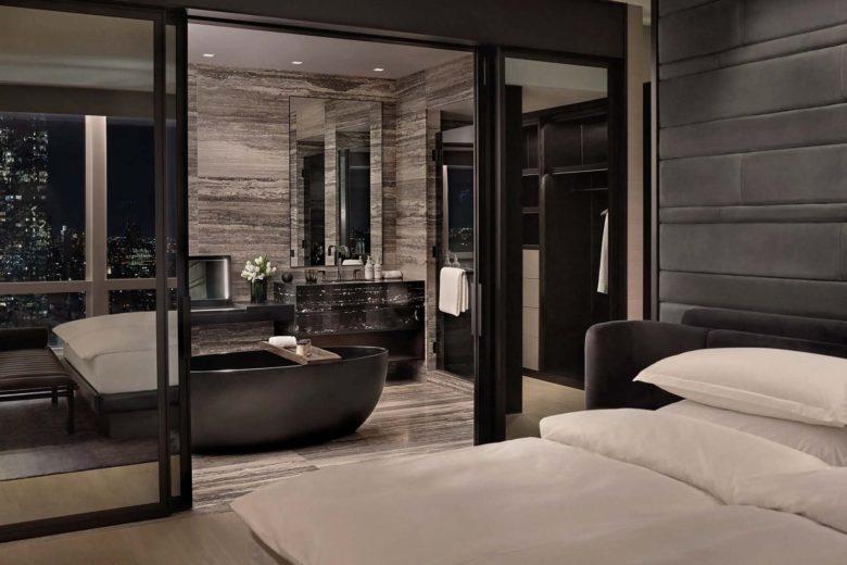 best hotels new york Equinox Hotels Hudson Yards Luxa Terra