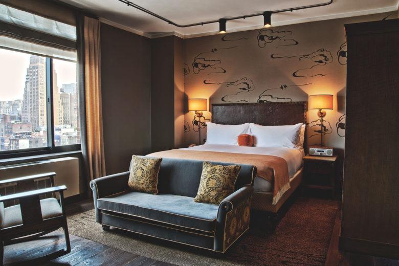 best hotels new york Soho Grand Hotel Luxa Terra