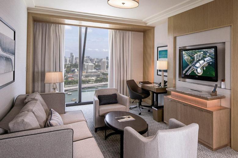 best hotels singapore Marina Bay Sands Luxa Terra