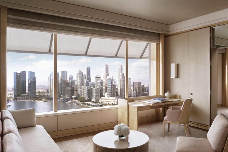 best hotels singapore Ritz Carlton Luxa Terra