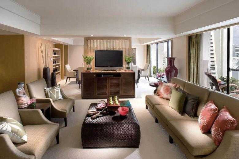 best hotels singapore Mandarin Oriental Luxa Terra