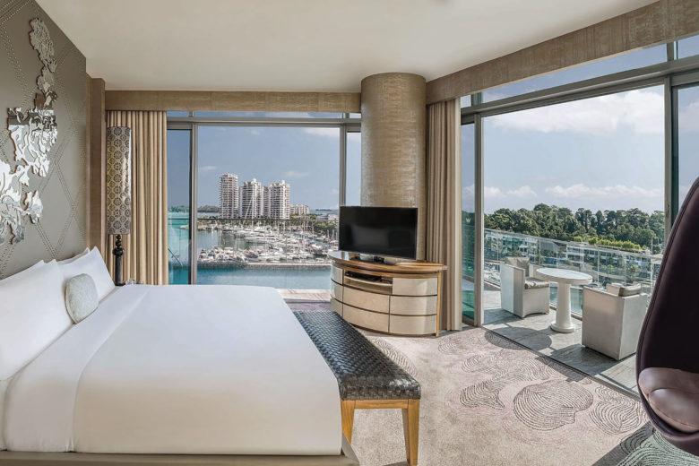 best hotels singapore W Singapore Luxa Terra