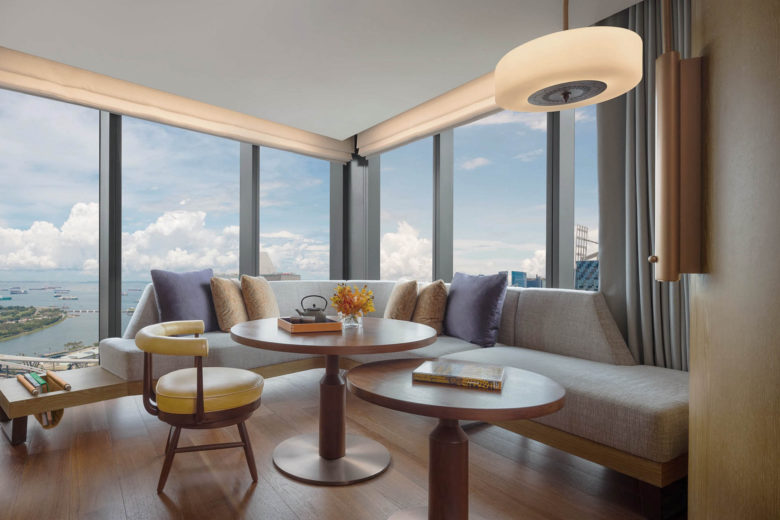 best hotels singapore Andaz Luxa Terra