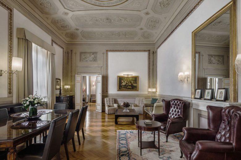 best hotels florence baglioni relais santa croce Luxa Terra