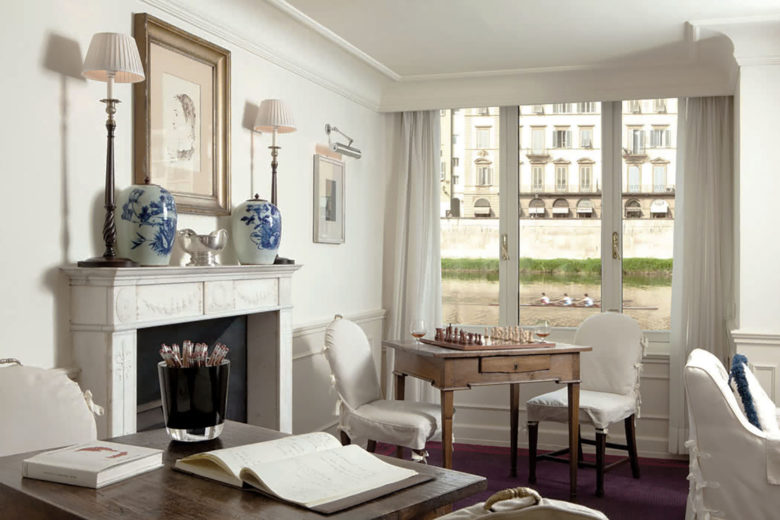 best hotels florence hotel lungarno Luxa Terra