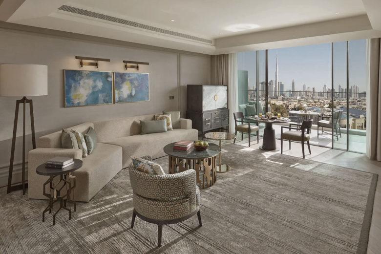 best hotels dubai mandarin oriental jumeirah Luxa Terra