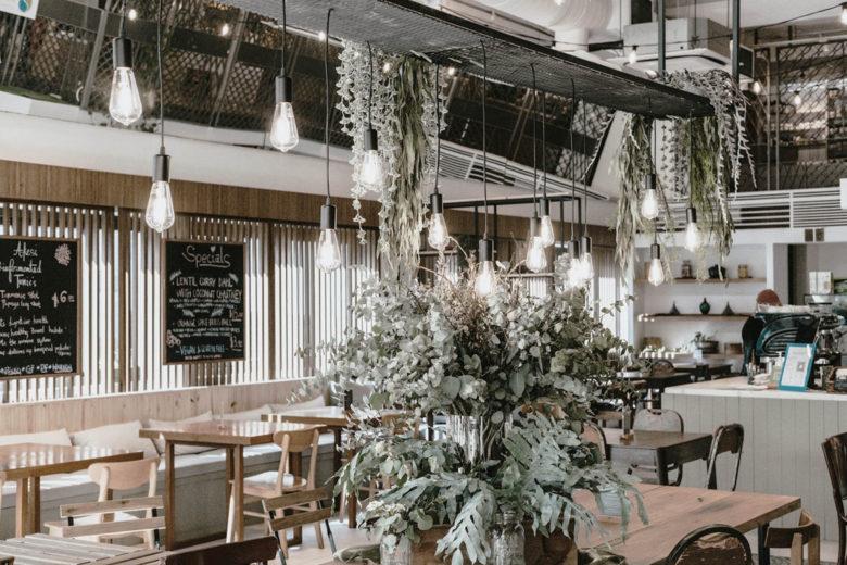 best vegetarian restaurants singapore the living cafe Luxa Terra