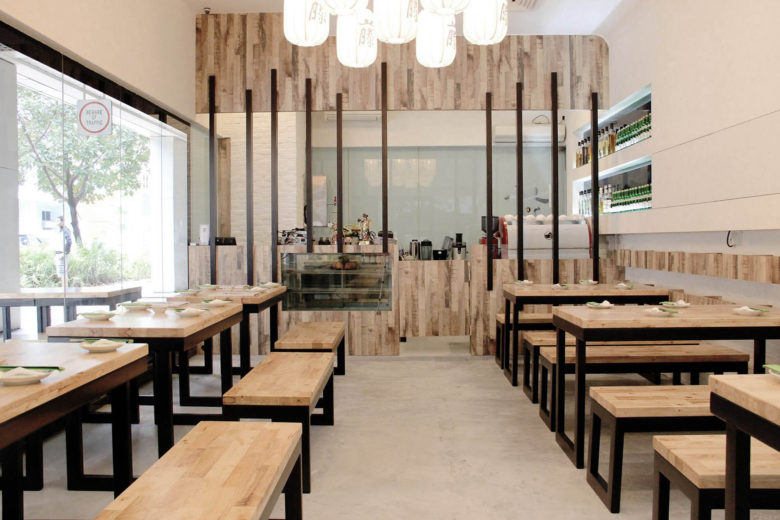 best vegetarian restaurants singapore teng bespoke Luxa Terra