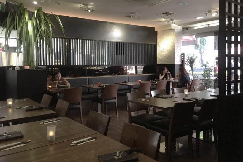 best vegetarian restaurants singapore herbivore Luxa Terra
