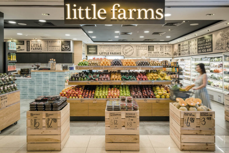 best vegetarian restaurants singapore little farms Luxa Terra