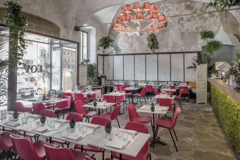 best vegan restaurants florence lov osteria vegetariana Luxa Terra